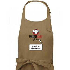 Master Chef čiapky - vlastné meno - Zástera klasická