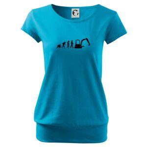 Evolúcia bager malý - Voľné tričko city