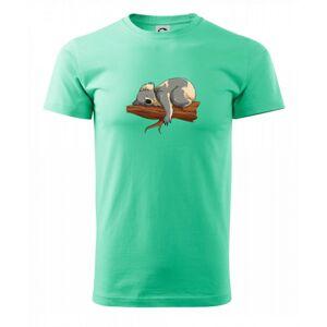 Koala na vetve - Heavy new - tričko pánske