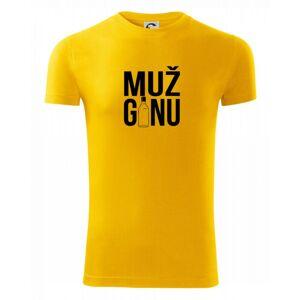 Muž ginu - Viper FIT pánske tričko