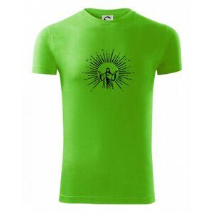 Ježíš a svatozář - Viper FIT pánske tričko