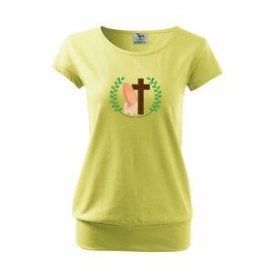 Veniec - kríž a modlenie - Voľné tričko city