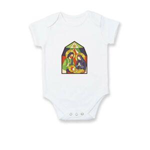 Vitráž - jasličky - Dojčenské body