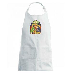 Vitráž - jasličky - Detská zástera na varenie