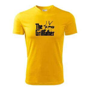 The Grillfather - Pánske tričko Fantasy športové