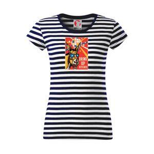 Drink up bitches - Sailor dámske tričko