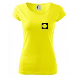 Hranatý kríž - Rescue - Pure dámske tričko