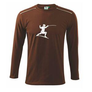 Šermiar postava - Tričko s dlhým rukávom Long Sleeve