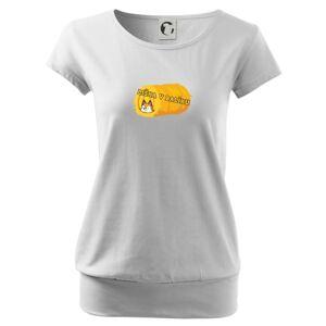 Liška v balíku - Voľné tričko city