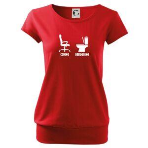 Coding debugging - Voľné tričko city