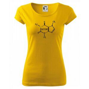 Caffeine molekuly - Pure dámske tričko