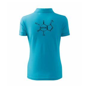 Caffeine molekuly - Polokošeľa dámska Pique Polo