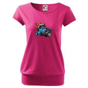 Motorkár vlk - Voľné tričko city