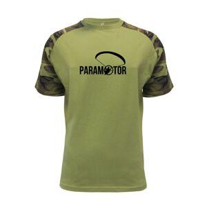 Paramotor nápis - Raglan Military