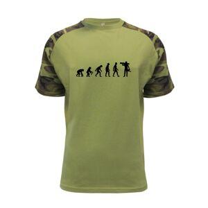 Evolúcia drevorubača - píla a kmeň - Raglan Military