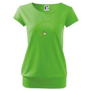 Kozičky 100% bio - Voľné tričko city