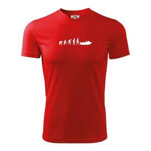 Evolúcia čln - Detské tričko fantasy športové tričko