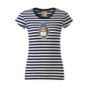 Sova ako žralok - Sailor dámske tričko