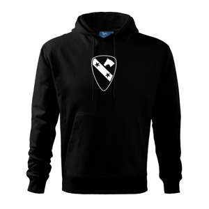 1st Cavalry Division hviezdy - Mikina s kapucňou hooded sweater