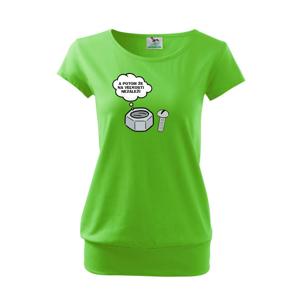 A potom že na veľkosti nezáleží - Voľné tričko city