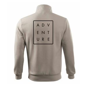 Adventure obdĺžnik - Mikina bez kapucne Adventure