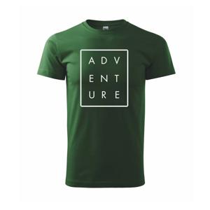Adventure obdĺžnik - Tričko Basic Extra veľké