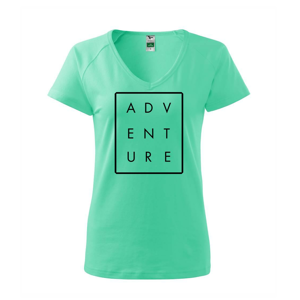 Adventure obdĺžnik - Tričko dámske Dream