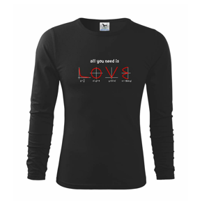 All you need is love - Tričko detské Long Sleeve