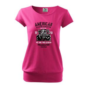 American Classic Gangster - Voľné tričko city