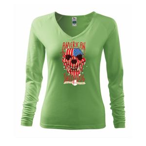 American Sheepdog - lebka - Tričko dámske Elegance