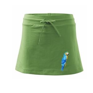 Ara modrá kreslená - Športová sukne - two in one