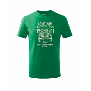 Army Ride - Tričko detské basic
