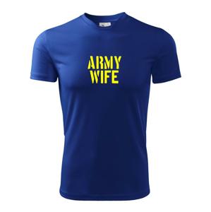 Army Wife - Pánske tričko Fantasy športové