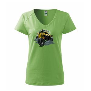 ATV bugina žltá - Tričko dámske Dream