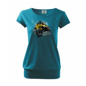 ATV bugina žltá - Voľné tričko city