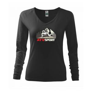 ATV štvorkolka sport - Tričko dámske Elegance