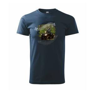 ATV štvorkolka v lese - Tričko Basic Extra veľké