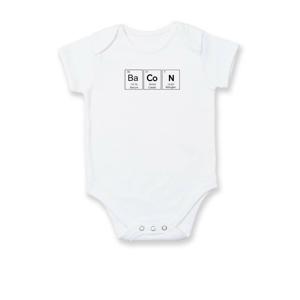 Bacon - periodická tabuľka - Dojčenské body