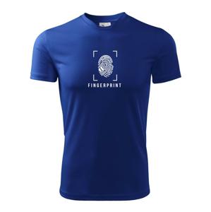 Badminton Fingerprint - Detské tričko fantasy športové tričko