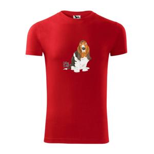 Baset - like a boss - Viper FIT pánske tričko