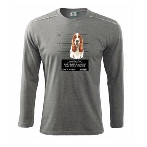 Baset - lump a darebák  - Tričko s dlhým rukávom Long Sleeve