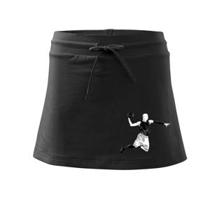 Basketbalista vo výskoku - Športová sukne - two in one
