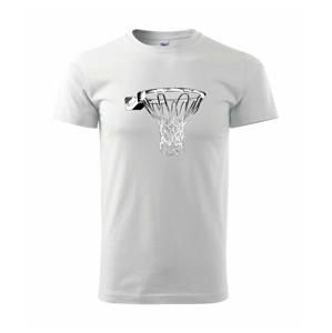 Basketbalový kôš - Heavy new - tričko pánske