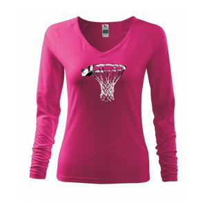 Basketbalový kôš - Tričko dámske Elegance