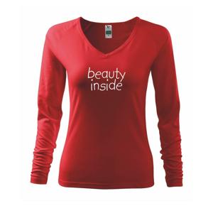 Beauty inside - Tričko dámske Elegance