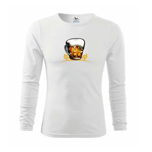 Beer polliter plný - Tričko detské Long Sleeve