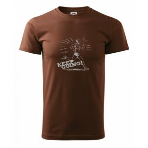 Behanie -  keep going - Heavy new - tričko pánske