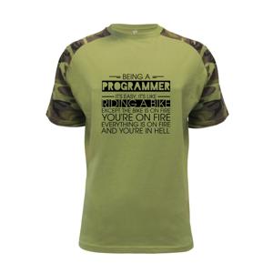 Being a programmer - bike - Raglan Military