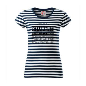 Being a student - bike - Sailor dámske tričko