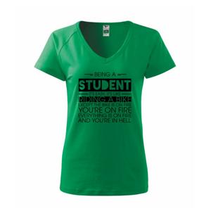 Being a student - bike - Tričko dámske Dream